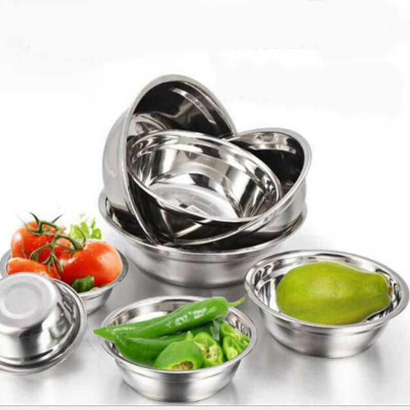 厂家直销 不锈钢带磁汤盆 米饭碗小汤碗14cm-45cm不锈钢盆 圆形