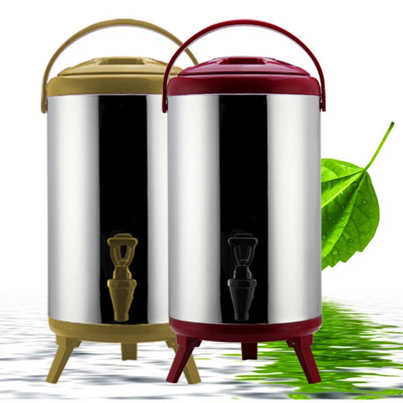 厂家直销 不锈钢商用保温奶茶桶 豆浆桶果汁桶大容量8-12L